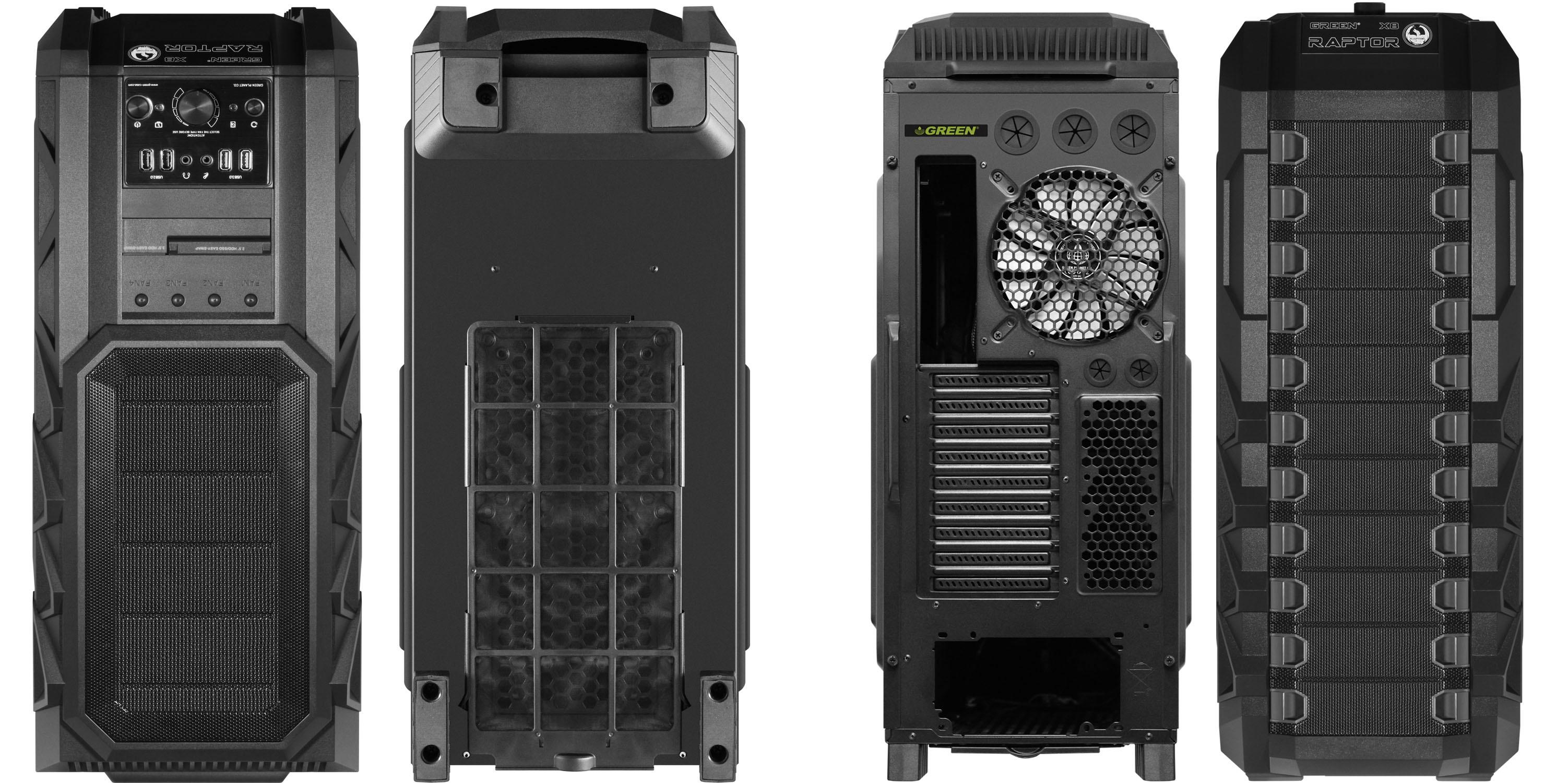 Green X8 Raptor Cooling System