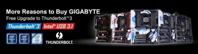 Gigabyte Thunderbolt3