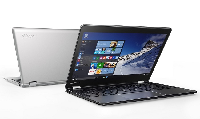 Lonovo yoga laptops