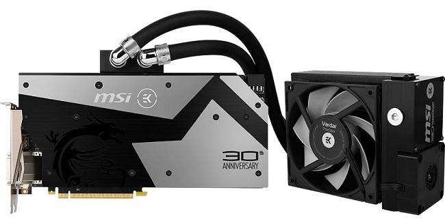 MSI GeForce GTX 1080 30th Anniversary Edition