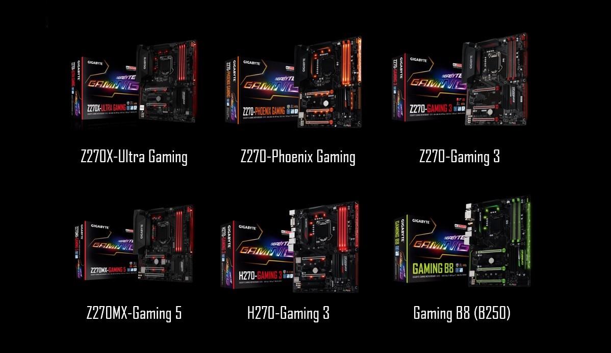 Gigabyte gaming 200 motherboards
