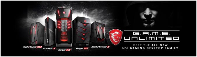 MSI Gaming Desktop