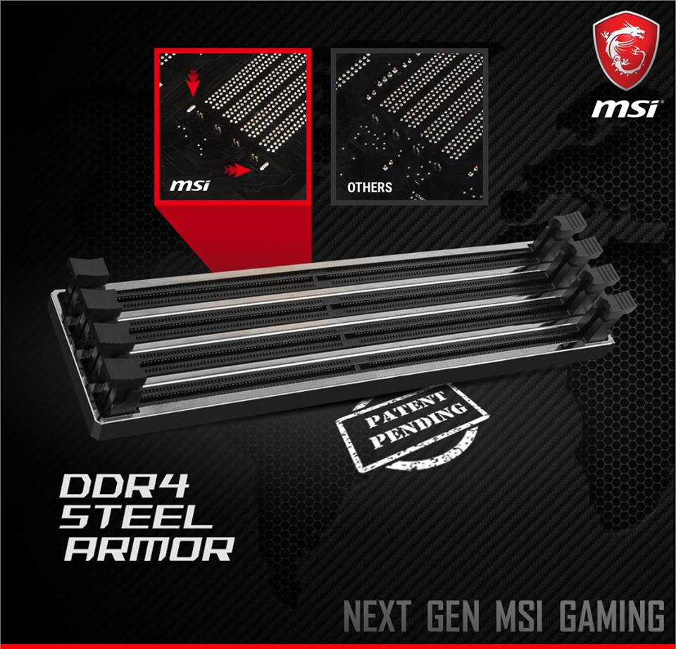 DDR4 Steel Armor