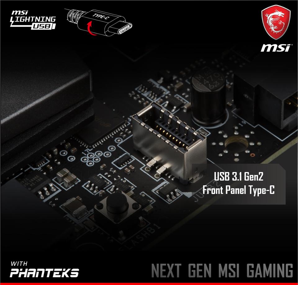 USB 3.1 Gen 2 Front Panel Header