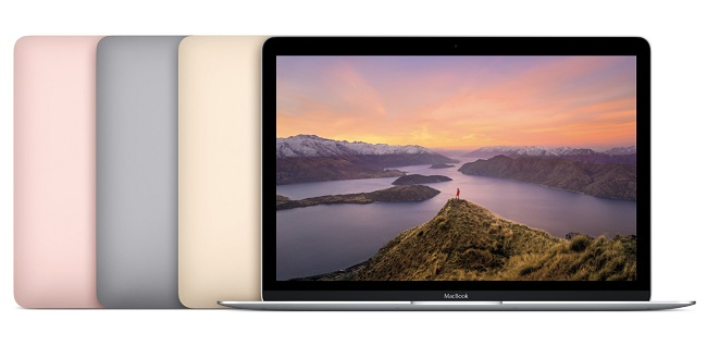 Apple MacBook Update New CPUs Longer Battery Life and new Rose Gold Color