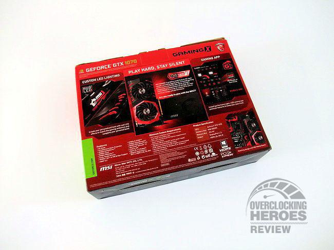 MSI GTX1070 GamingX