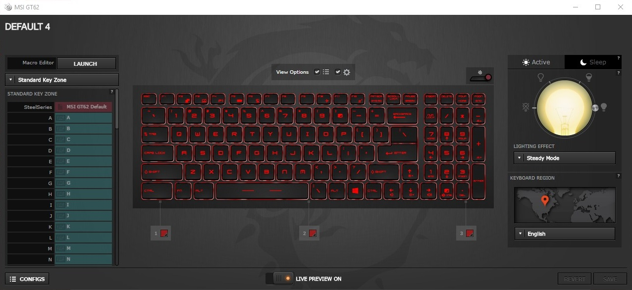 Steelseries Engine 3 Keyboard